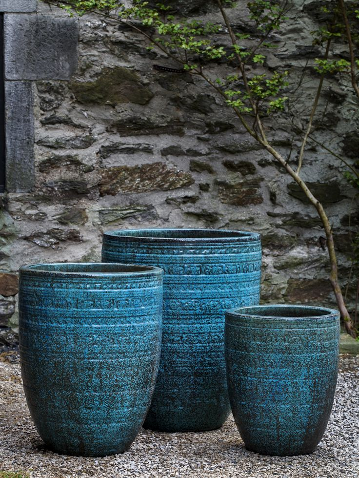 Sari 3 Piece Terracotta Pot Planter Set In 2021 Planters Planter Pots Terracotta Pots
