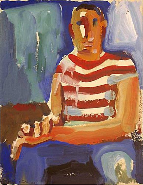 ~David Park~  Seated Man  (1960)