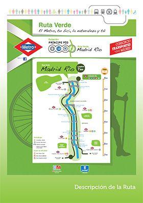 Ruta Verde de Madrid Río | ocio por madrid