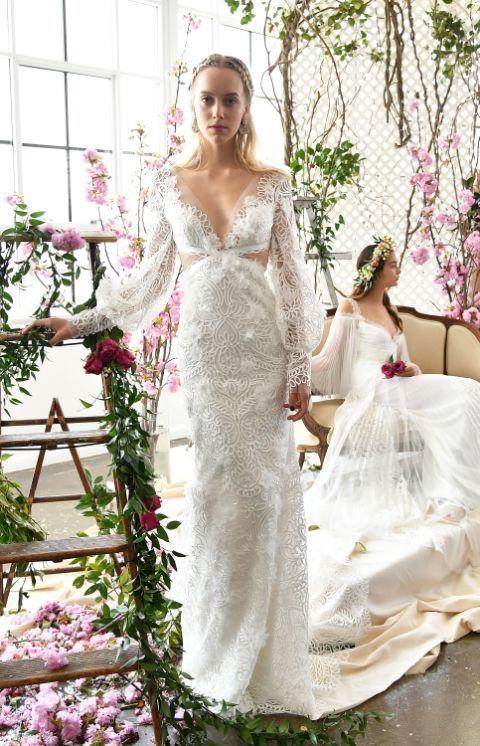 Top Oltre 25 fantastiche idee su Abiti da sposa floreali su Pinterest  PS11