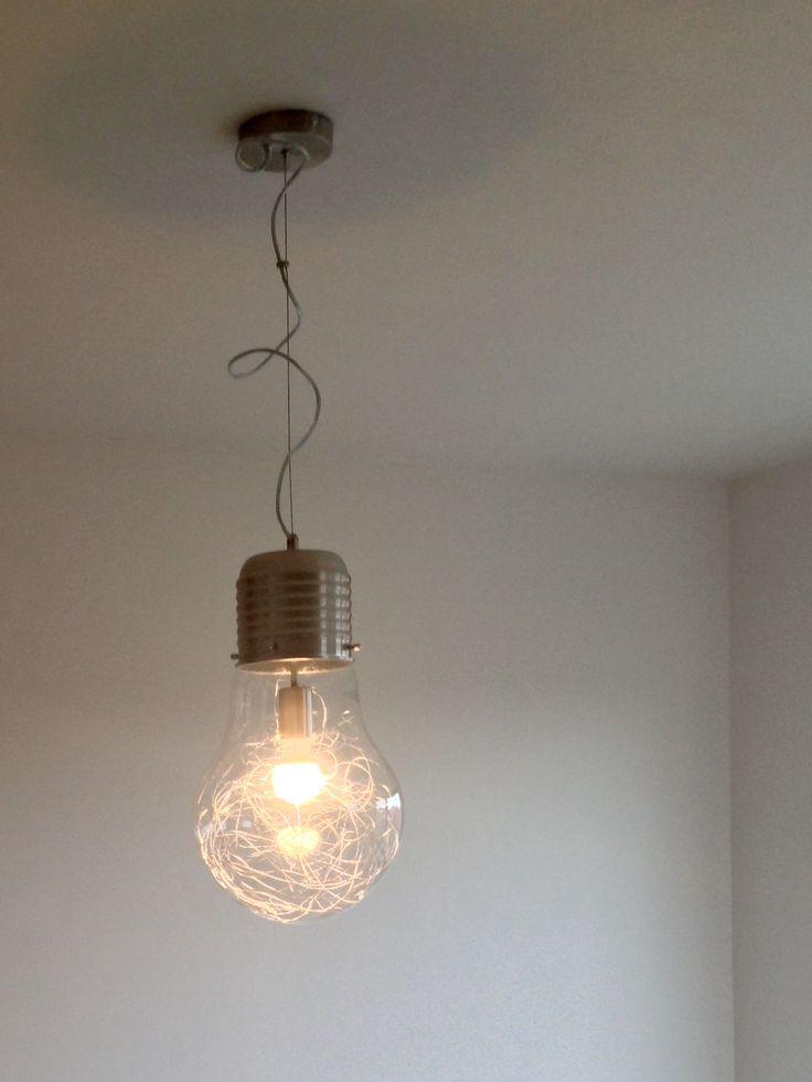 💡inspired by Edison incandescent light bulb💡