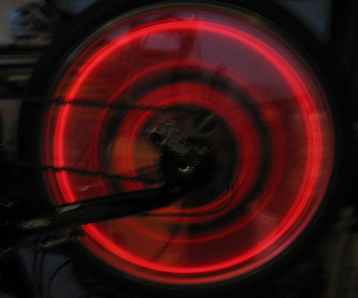 DIY LED Bycicle POV