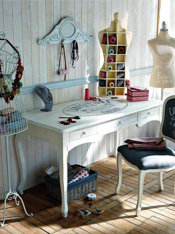 Las 25 mejores ideas sobre taller de costura en pinterest for Muebles de costura