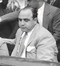 Al Capone scar side