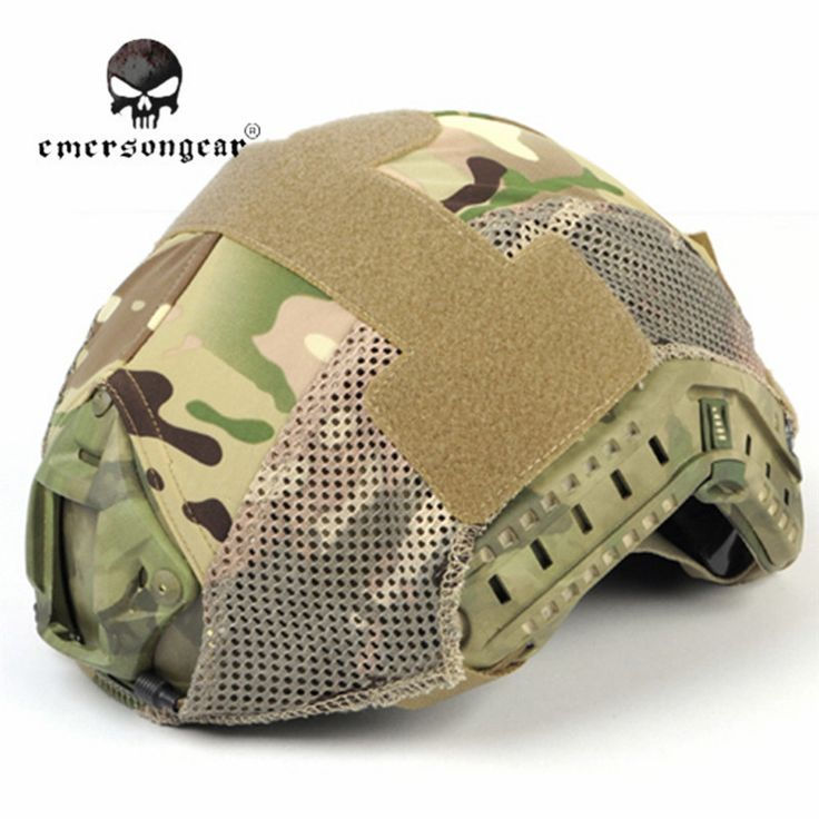 Emerson Airsoft Tactical Helmet Cover Cloth for BJ/PJ/MH Fast Helmet Hunting Camo Helmet Dust-proof Cover Accessories EM8809