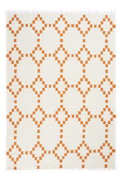 Linie Design Tæppe Ryo 170x240 Håndvævet tæppe i 100% uld. Kun kemisk rens. <br><br>100% uld<br>Kemisk rens