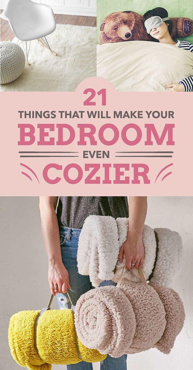 21 Things That Will Make Your Bedroom Even Cozier