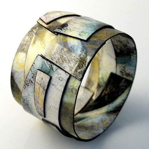 Best 20 paper jewelry ideas on pinterest for How to make paper mache jewelry