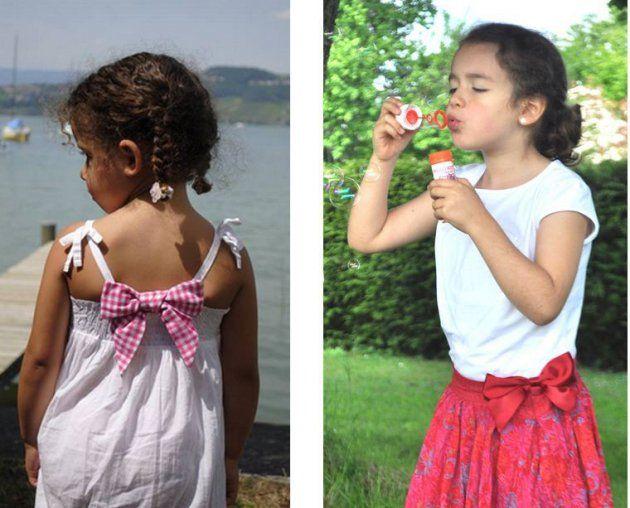 Gamme enfant de Clipshirt Spirit #accessoire #mode #enfant #fashion #pince #vêtement #crowdfunding #financement #mymajorcompany