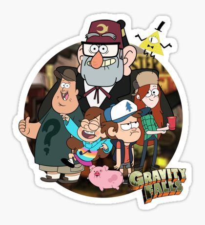 Pegatina 'Gravity Falls Mystery Shack' de jamaziing