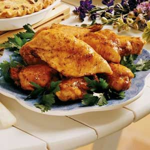 Simply Great Chicken lives up to its name. It's easy and fast and tastes amazing. I usually use boneless, skinless chicken breasts instead of a broiler/fryer chicken.