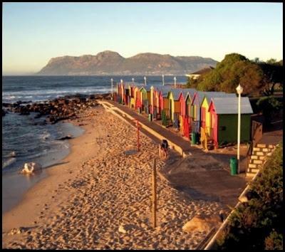 St James Beach Huts, St James Beach, Cape Town