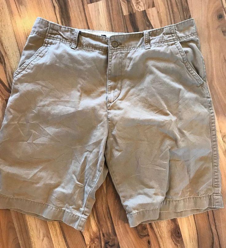 Old Navy Men's Cotton Chino Khaki Shorts Sz 36    eBay