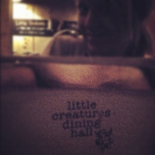 Little Creatures Dining Hall, Melbourne