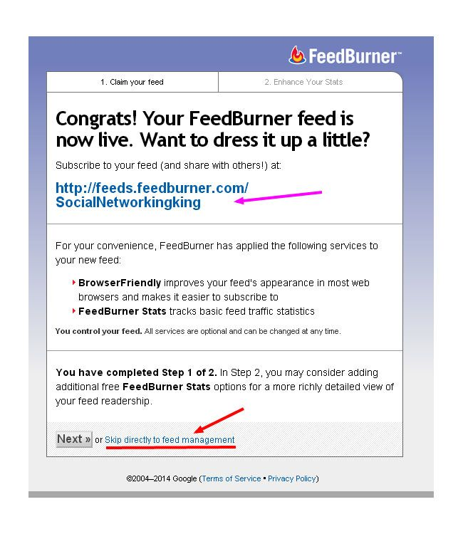 An ins and outs guide to setup FeedBurner for WordPress