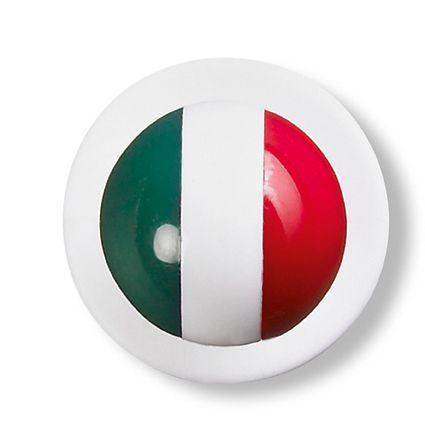 Boutons dessin drapeau italien
