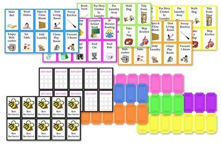 Kid's Chore Chart Free Printable