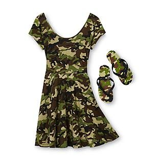 Camouflage Dresses for Juniors
