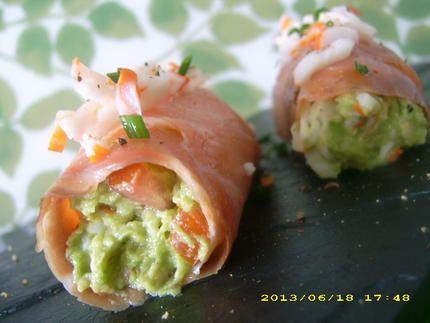cannellonis frais de saumon à la chair de crabe (recette minceur)