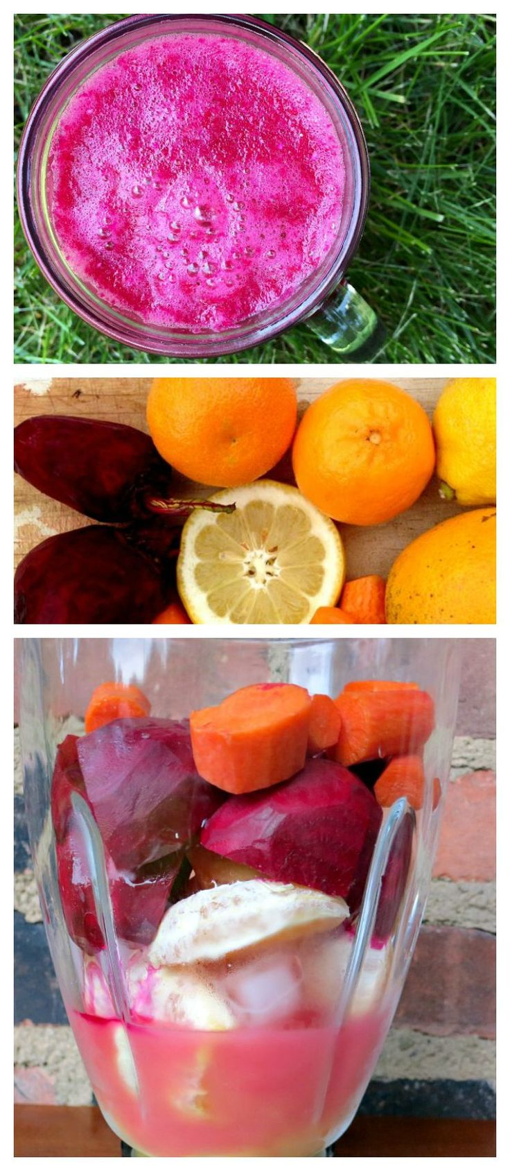 Beet Juice Smoothie. A healthy, tasty and refreshing way to work beets into your diet.