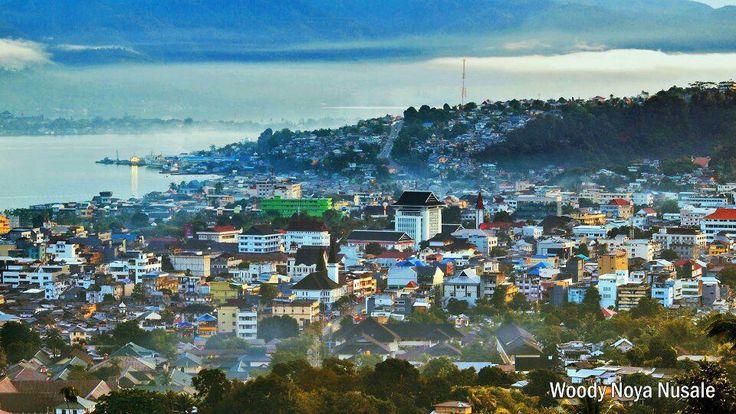 Ambon city, Indonesia