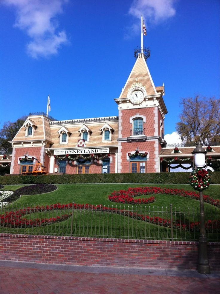 Disneyland - California.  I have a pic in this exact spot!!