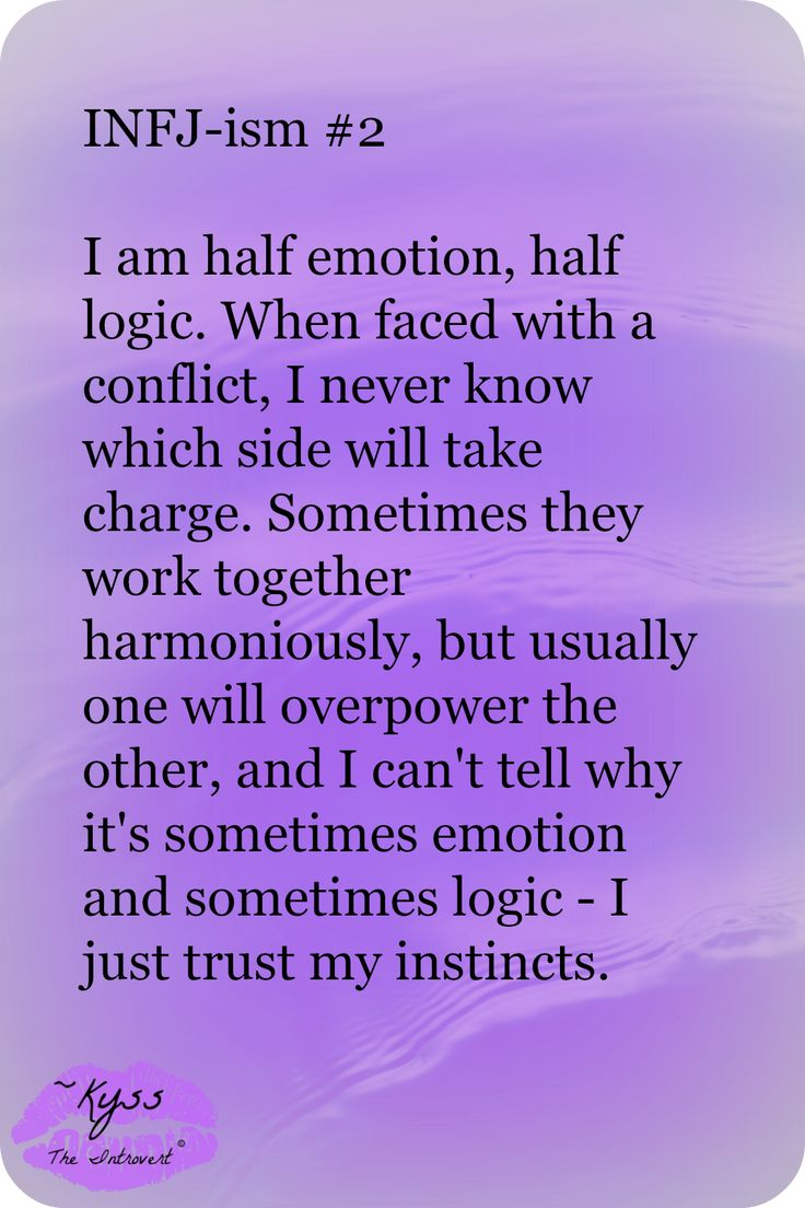 INFJ-ism #2 by ~Kyss the Introvert