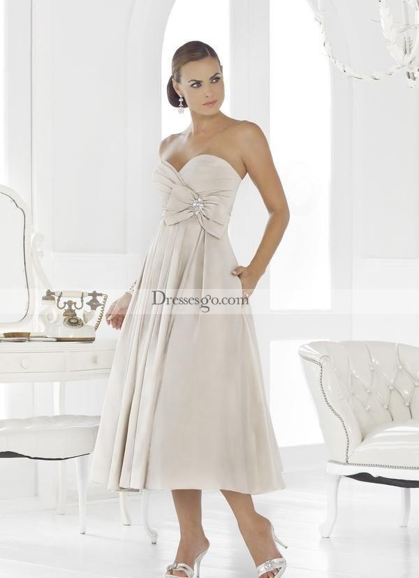 30 besten Tea Length Wedding Dresses Bilder auf Pinterest ...