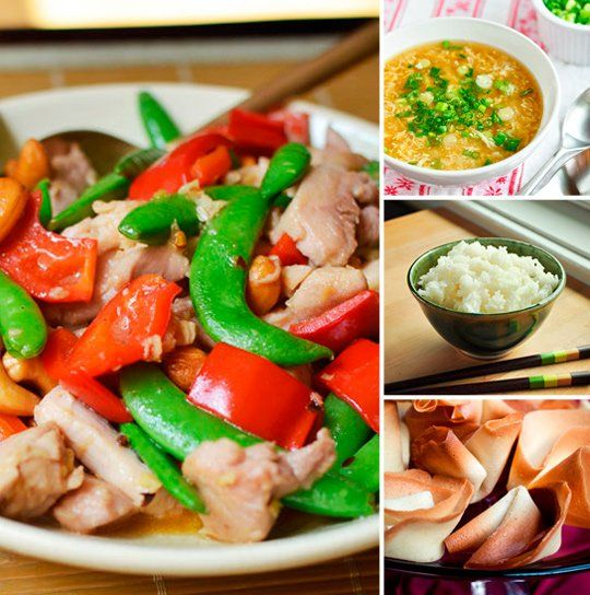"""Stir Fry & Fortune Cookies: A Chinese """"Take Out"""" Menu for Saturday Game Night — Party Menus from the Kitchn"""