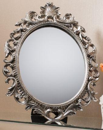 Gallery Direct Napoli Mirror - Silver 4pk