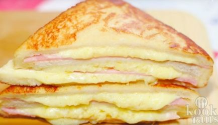 Goedgevulde Monte Cristo Sandwich! recept   Smulweb.nl