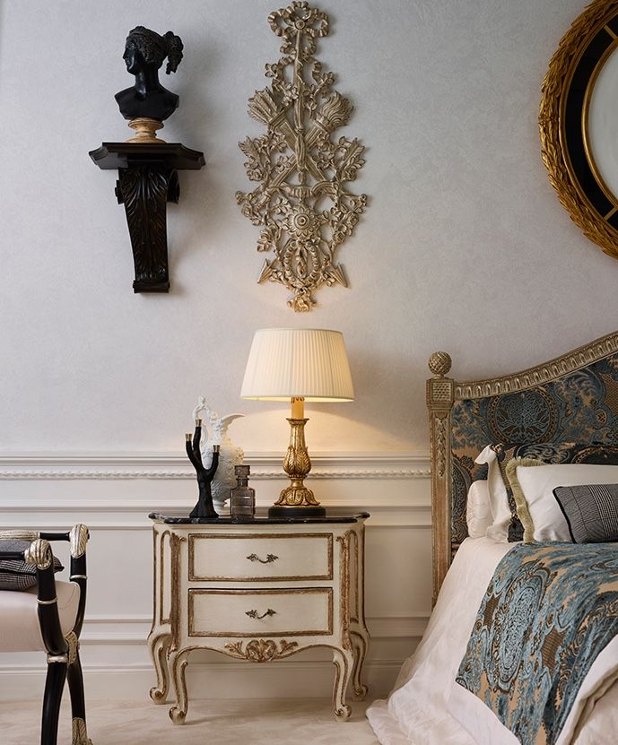 Details of your dreaming bedroom #RobertoGiovanniniArmonie