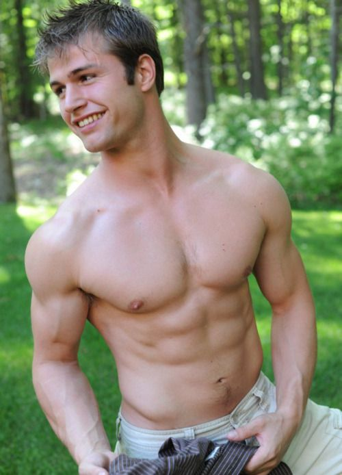 Hot College Football Player