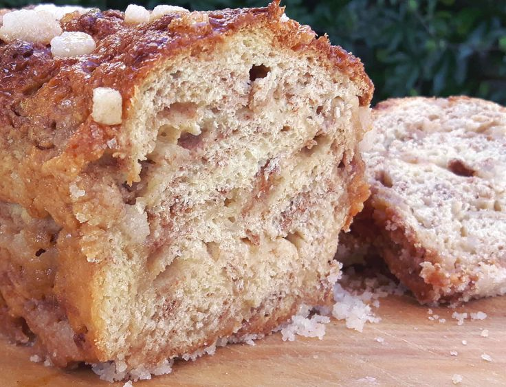 Suikerbrood (Sugar bread) is a yeast-based bread. It is a Frisian luxury version of white bread, with large lumps of sugar mixed in with the dough.