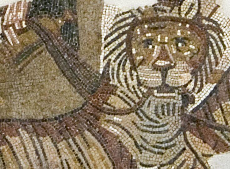 Mosaico de Andelos, el Triunfo de Baco, siglo I - II d. C.