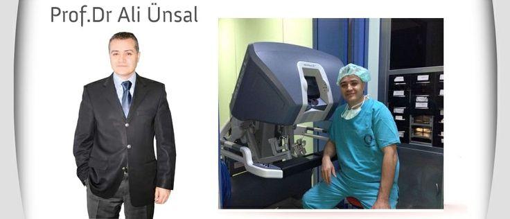 Robotik Cerrahi Sistemi  Robotik Cerrahi avantaj olarak; 7 derece serbest hareket etme özelliğine sahip olan aletlerdir. Bu aletlerin uçları kendi eksenleri etrafında 540 derece dönebilmektedir ve insan elini bilek hareketlerini taklit edebilmektedir. Ancak bu aletler insan elinden çok daha ufak boyutlarda olup, ameliyatlarda insan elinin uzanamayacağı yerlere ulaşabilmektedir.Ameliyattan sonra Daha az ağrı, Daha az kan kaybı ve kan nakli, Daha küçük yara izi, Daha hızlı iyileşme…