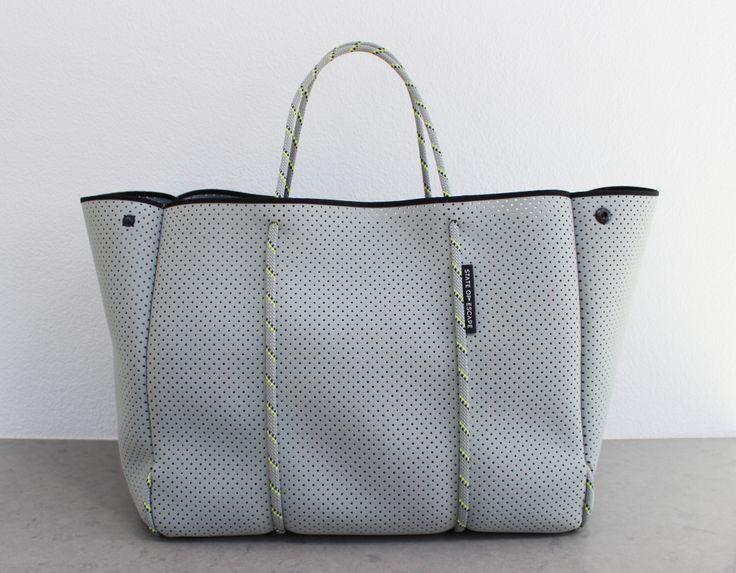 Grey 'Escape' bag http://stateofescape.com.au/collections/all