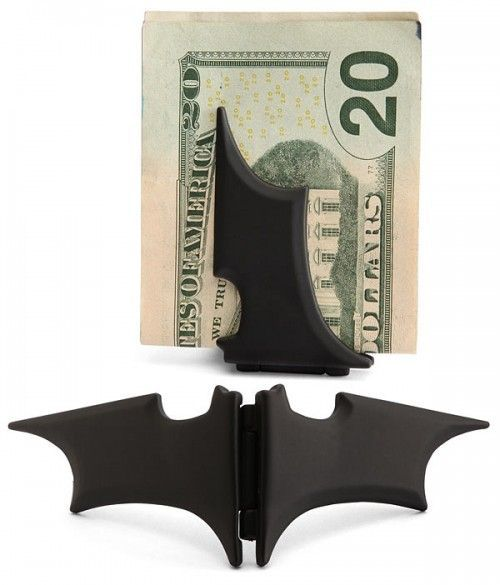Magnetic Batman Money Clip - OhGizmo! This.