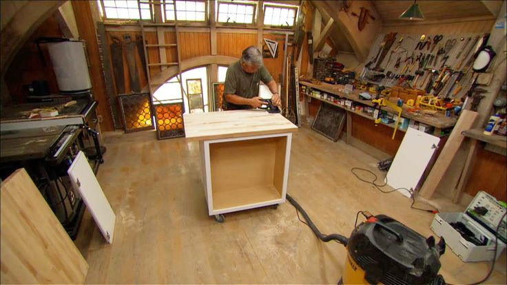 How To Build A Kitchen Island Wheels WoodWorking