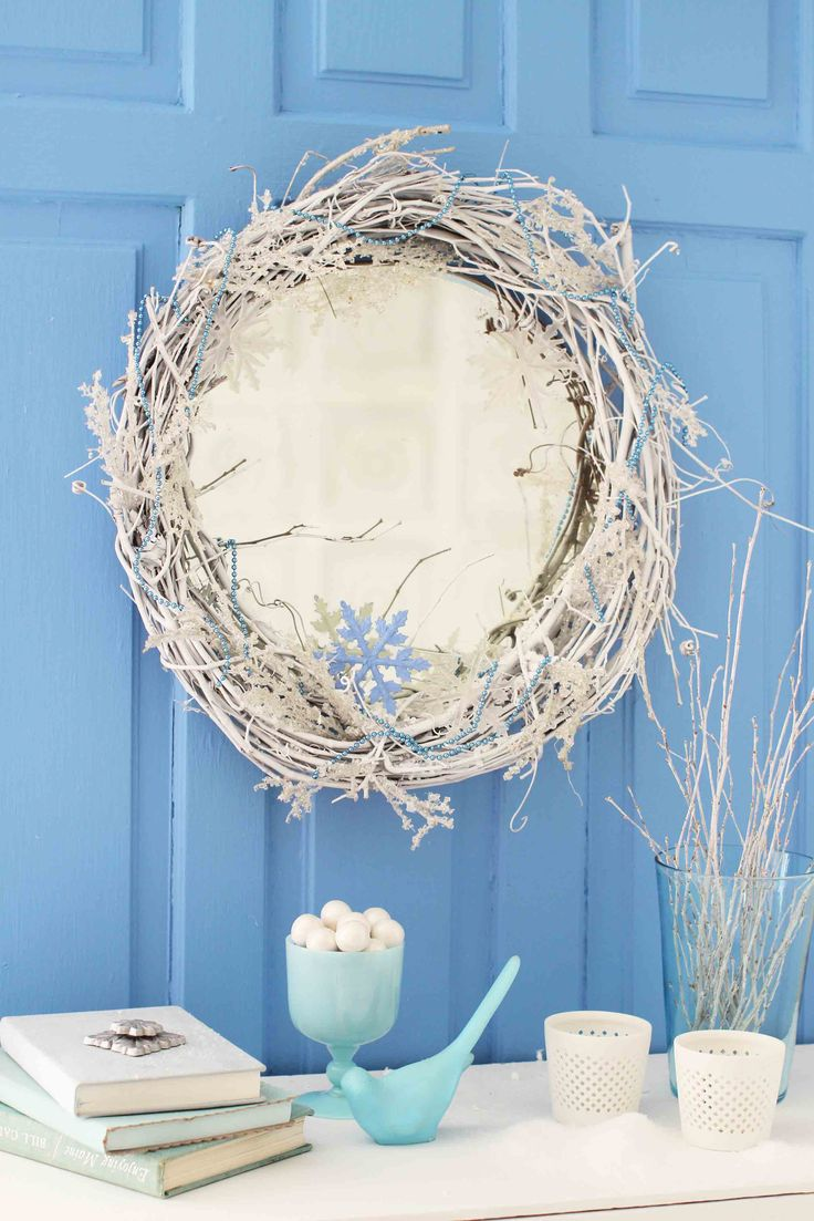 Learn how to recreate this DIY winter wreath in the latest edition of FINISH magazine.
