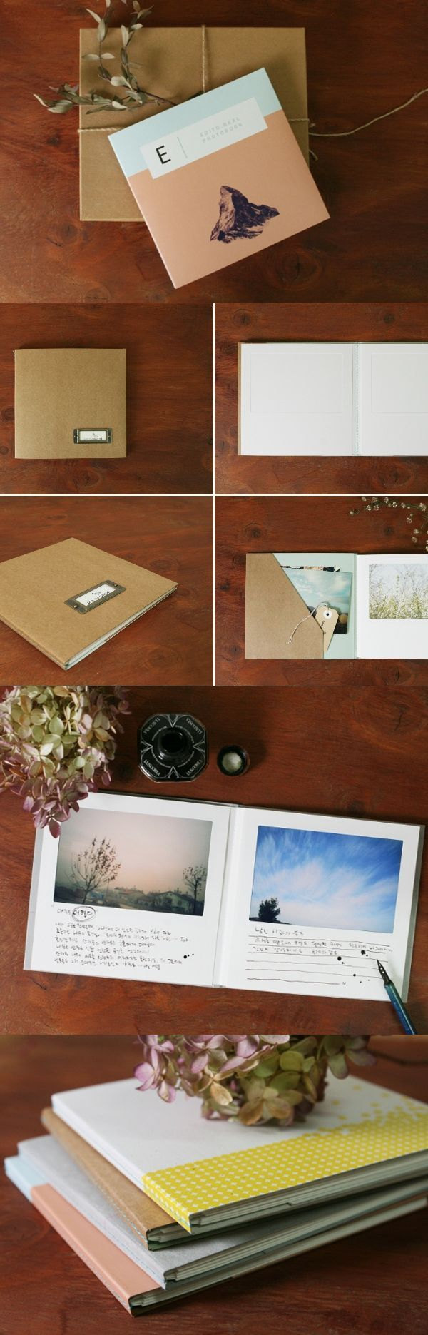 Make It A Photo Album Or A Scrapbook. Keep It Or Gift It. The