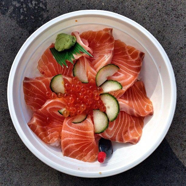 Salmon Don. Deeeeelicious! @ Suzuran