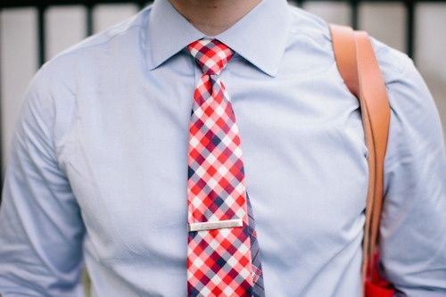 Wearing the right tie is very important!