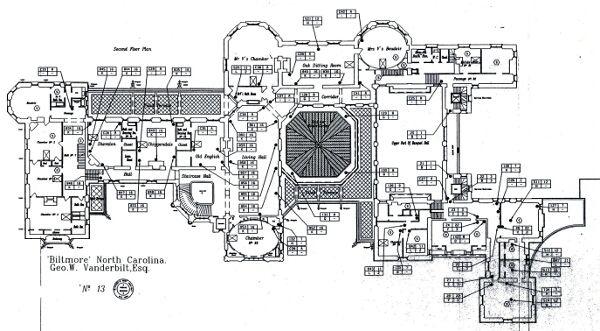 biltmore estate floor plan biltmore floor planorg ashville