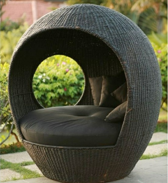 Outdoor Cocoon Chair.
