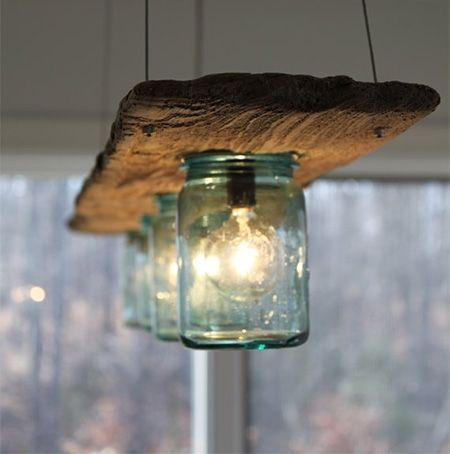 mason jar pendants | mason jar light fitting pendant lamp