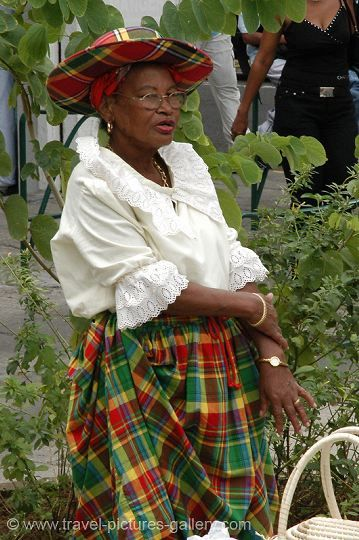 From Martinique, but she looks just like my Grandma!