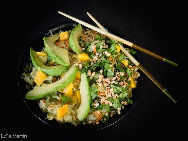 Salade de choucroute crue façon Thaï – je vais vous cuisiner