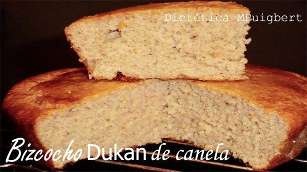 Bizcocho dukan de canela adelgazar dieta sana for Bizcocho para dieta adelgazar