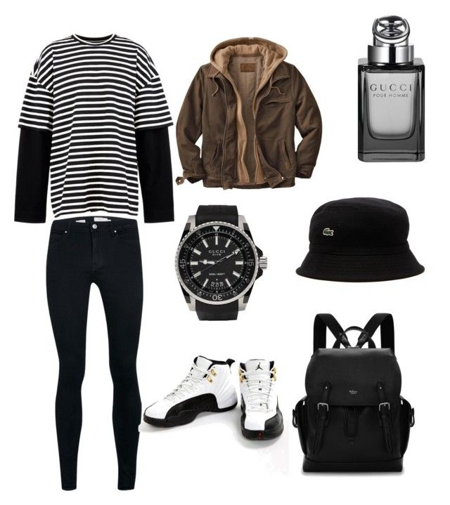 """Boys style"" by kehichabelle on Polyvore featuring Topman, Juun.j, Jordan Brand, Gucci, Mulberry, Lacoste, men's fashion and menswear"